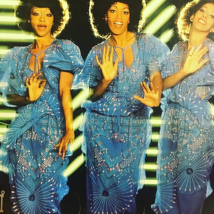 """470 Likes, 9 Comments - Dame Zandra Rhodes (@zandra_rhodes_) on Instagram: """"The Three Degrees of Blue! 🦋The cover of 1978 'New Dimensions' album cover by The Three Degrees…"""""""