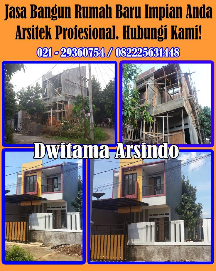 Dwisindo sudah dipercaya lebih dari 15 tahun membangun dan merenovasi rumah maupun gedung. Kami mempunyai kapabilitas dalam memberikan pelayanan berkualitas dan bermutu.                                          Hubungi kami : 021- 29360754 / HP. 082225631448