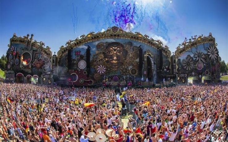 The magical 10Y celebration has started. You are the people of Tomorrow, let's unlock Happiness together… http://t.co/1JXPTMeUX7 Via Tomorrowland Radio at http://tomorrowlandradio.com