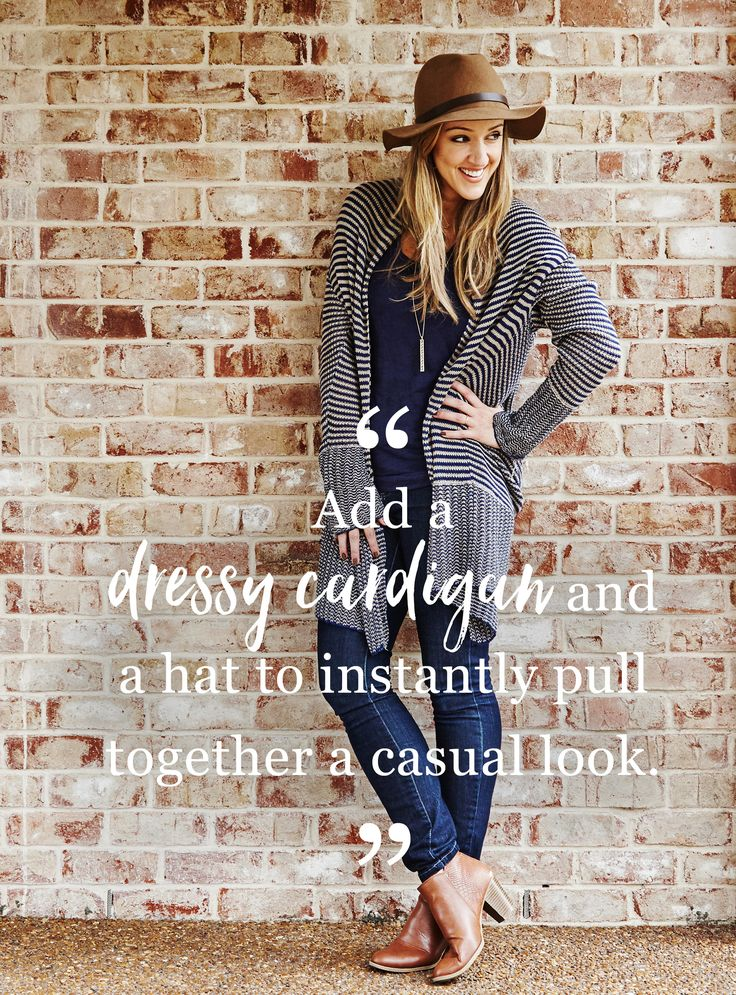 """BCBGMAXAZRIA Cardigan $48,  Gap Jeans $17.  """"If I can get fashionable clothes at a fraction of the price, that's a win-win.""""  Inside Edition correspondent and badass mom Megan Alexander shares her secondhand style picks. Shop her favorites right this way.   thredUP can help you styleUP�experiment with a new style or brand today. Everything up to 90% off! Sign up and start shopping today!"""
