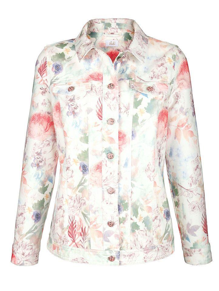 Paola Jeansjacke mit Blumendruck Jetzt bestellen unter: https://mode.ladendirekt.de/damen/bekleidung/jacken/jeansjacken/?uid=d42babf1-79e7-528e-8bf3-b28cb68291b4&utm_source=pinterest&utm_medium=pin&utm_campaign=boards #jeansjacken #bekleidung #jeans #jacken