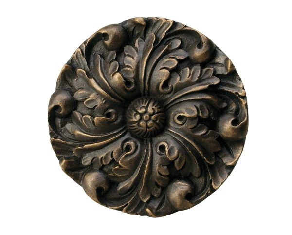 The Finial Company Resin Rosette Hold Back Or Medallion Black Deco House Pinterest