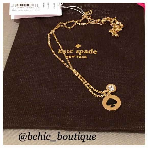 Blowout SaleKate Spade Necklace Brand New Kate Spade Necklace. Adjustable length kate spade Jewelry Necklaces
