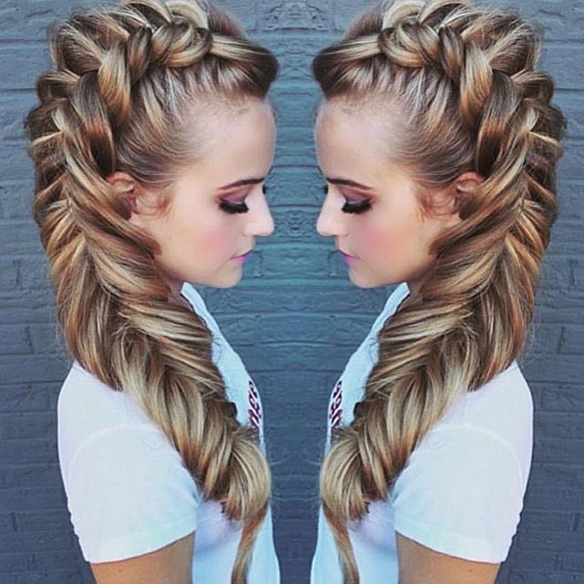 It S A Great Day To Practice Your Dutch Fishtail Braid