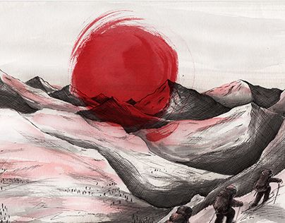 "Check out new work on my @Behance portfolio: ""Hiya Kemuri"" http://be.net/gallery/40766773/Hiya-Kemuri"