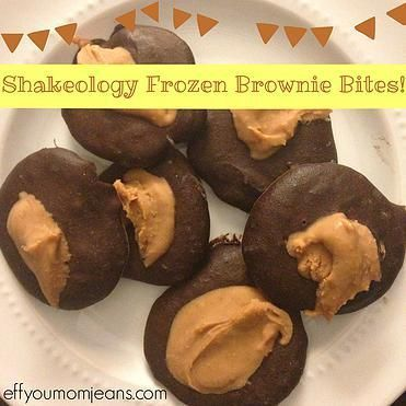 Shakeology Frozen Brownie Bites. 21 Day Fix approved. 21 Day Fix desserts. 21…