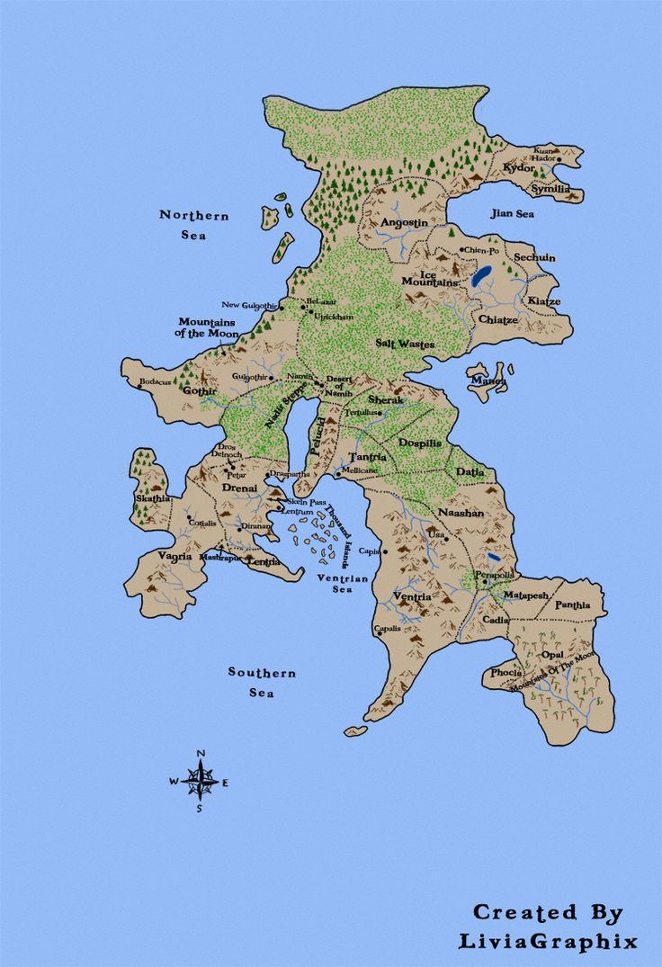 Lands Of The Drenai, From The Books By David Gemmell