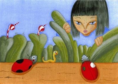 """illustrazioni per bambini di Oriana Ramunno """"Il mondo da scoprire"""""""