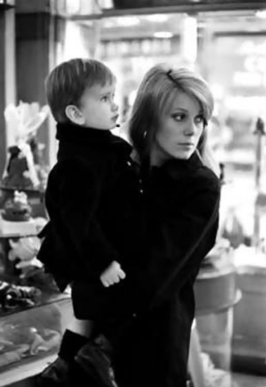 Catherine Deneuve & son Christian Vadim