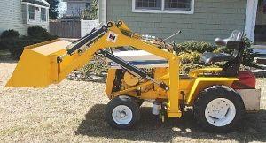 Cub Cadet 104 garden tractor loader_1