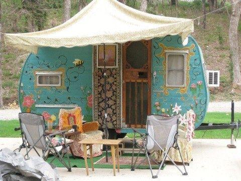 Caravanas vintage para espíritus bohemios / Vintage caravans, bohemian spirit | Bohemian and Chic