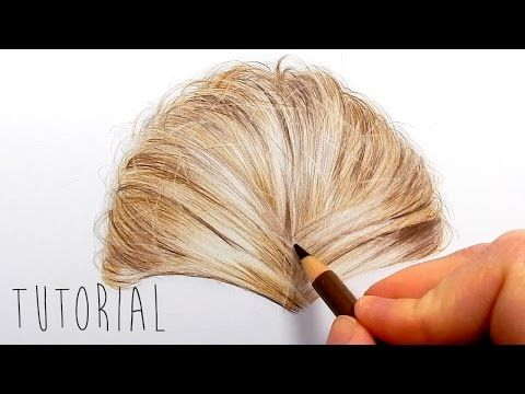 Tutorial | How to draw color a realistic eye and eyebrow with colored pencils | Emmy Kalia - YouTube