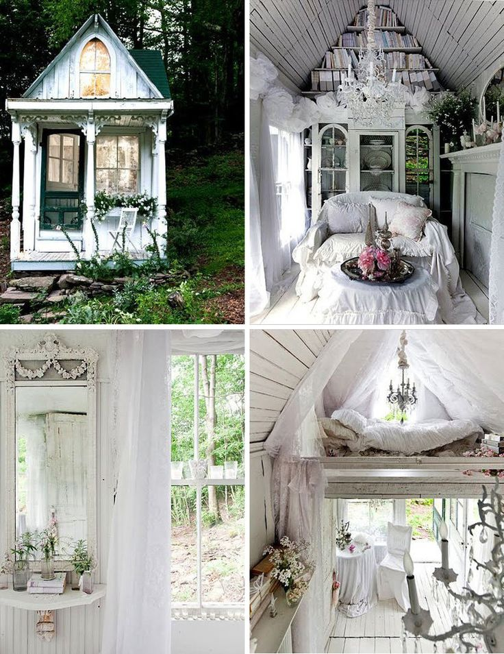All The Garden Sheds Of Your Wildest, Quaintest Dreams I don't think hubby and I envision the same thing when we talk about getting a garden shed...
