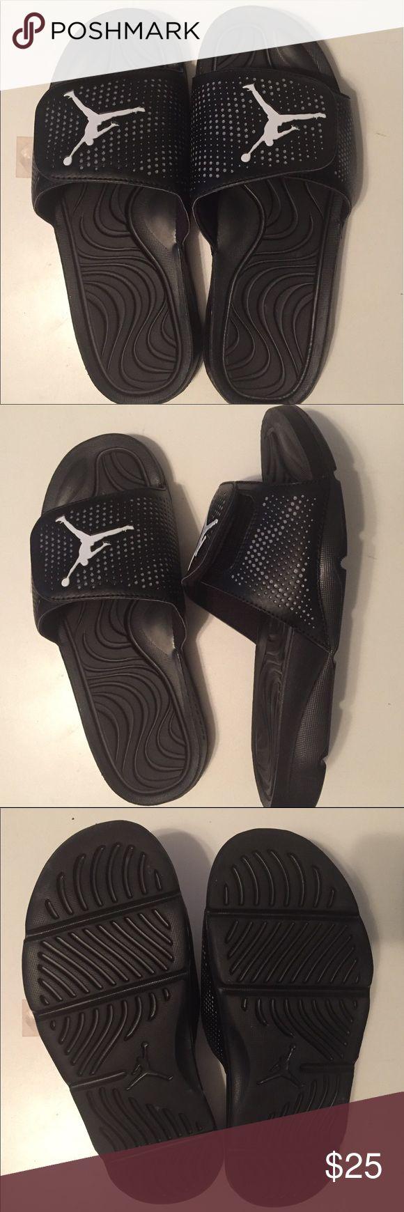 Jordan men's Hydro 5 slide. Size 10. Brand new Jordan men's Hydro 5 slide / sandal. Size 10. Grey/White/Black. Brand new-never worn. Jordan Shoes Sandals & Flip-Flops