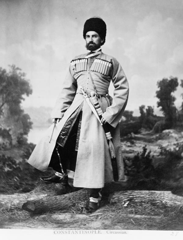 An Ottoman Circassian, Istanbul, 1865 (Bir Osmanlı Çerkesi, İstanbul, 1865)