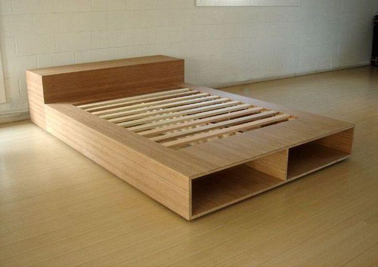 25 Best Diy Plywood Bed Frame Designs With Storage