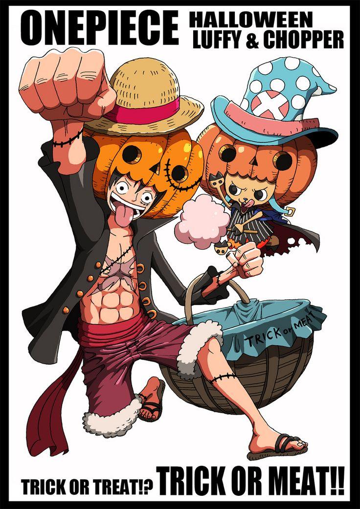 Hallowen - Luffy - Online One Piece