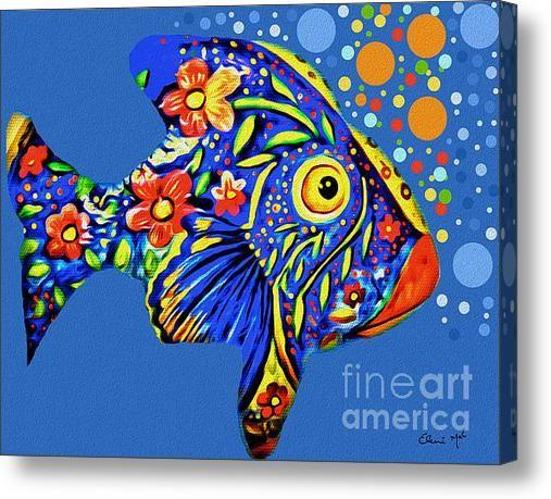 Tropical Fish Acrylic Print By Eleni Mac Synodinos