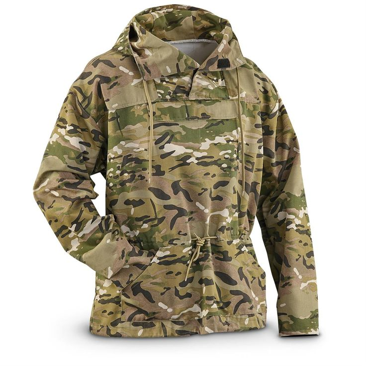 New U.S. Military Surplus MultiCam Anorak