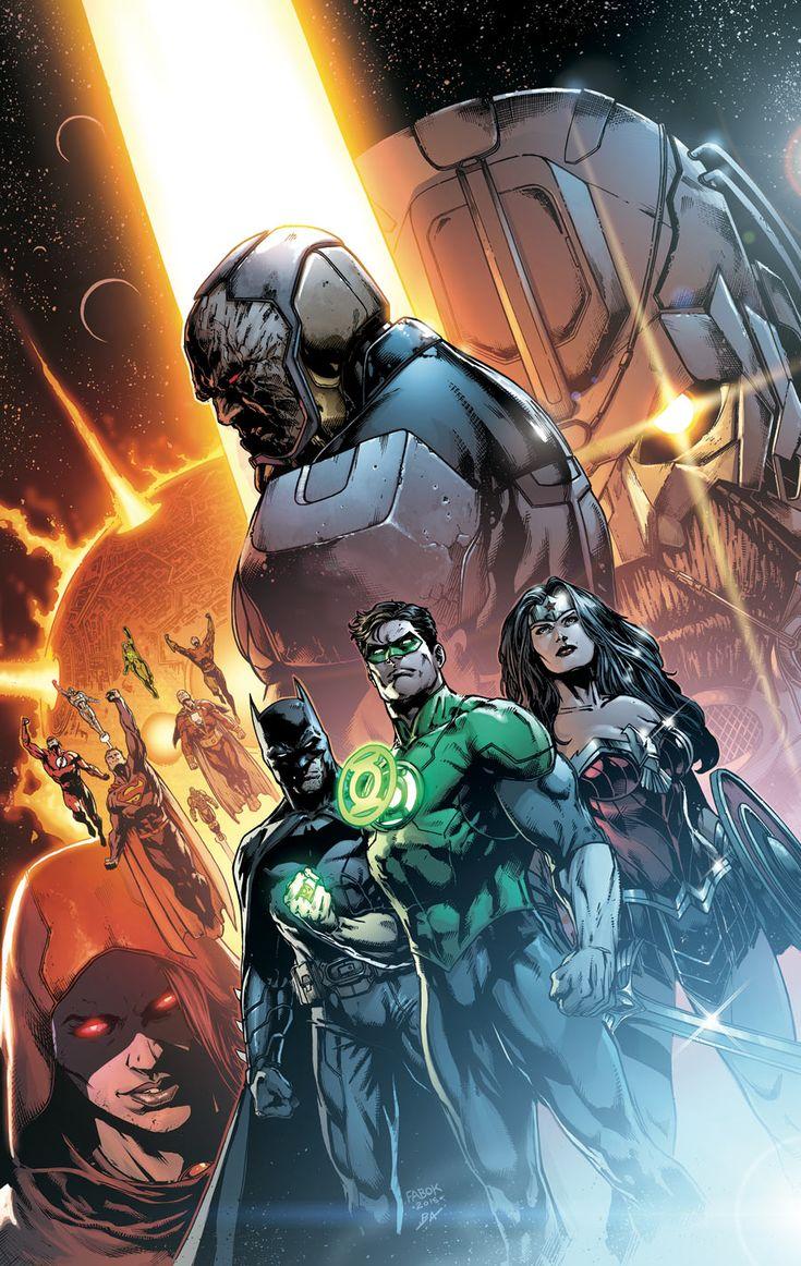 Découvrez toutes les couvertures des titres DC de juin