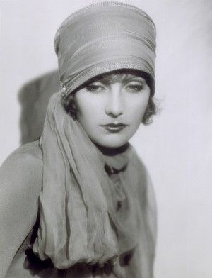 Greta Garbo shows sleepy eyes and a soft glow in The Temptress, 1926. Portrait by Ruth Harriet Louise, Gelatin silver print. Collection of the Reisfield Family. (Courtesy of the Scandanavia House)