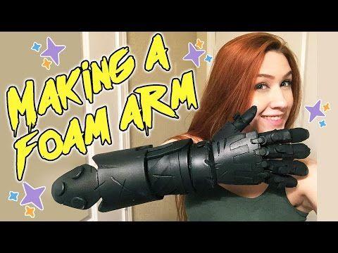 Making a Foam Arm [Junkrat from Overwatch] - YouTube