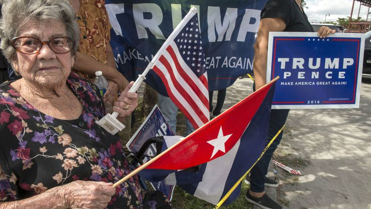 Ron y habanos: la venganza de los cubanos de Florida que le dio la victoria a Trump