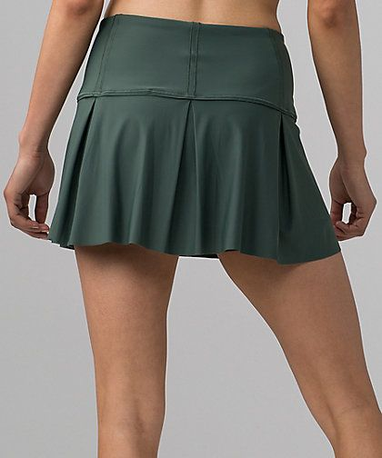 Lululemon Lost In Pace Skirt Regular & Tall Size:  2-12  Color:  Dark Forest  Price:  68.00 Released:  2017