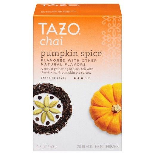 Tazo Chai Pumpkin Spice Tea 20 ct