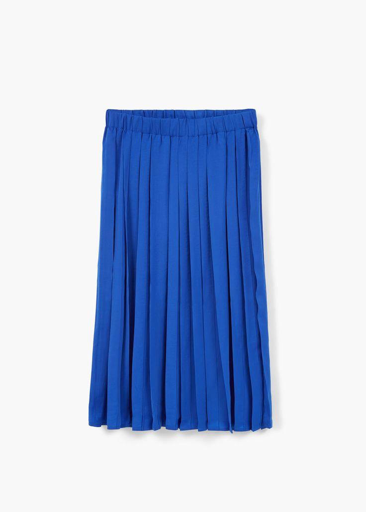 Pleated skirt   MANGO