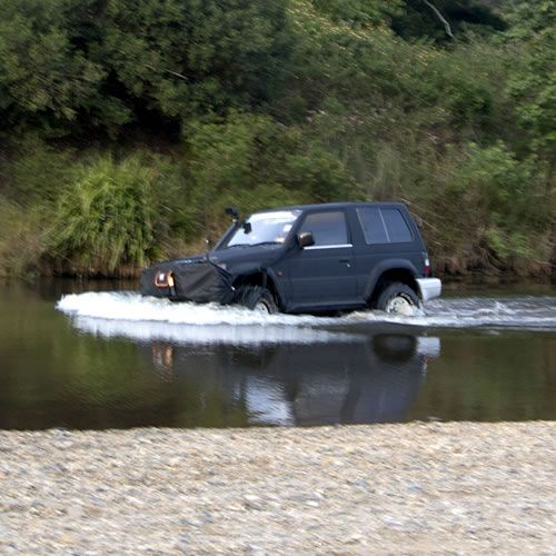 Tough Toys Offroad Accessories 4wd Tough Water Crossing Bra is a must have accessory if you're planning on any kind of water crossing deeper than knee height.