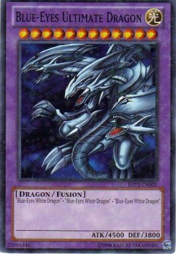 Blue-Eyes Ultimate Dragon (C) Konami Love it, want it, don ...