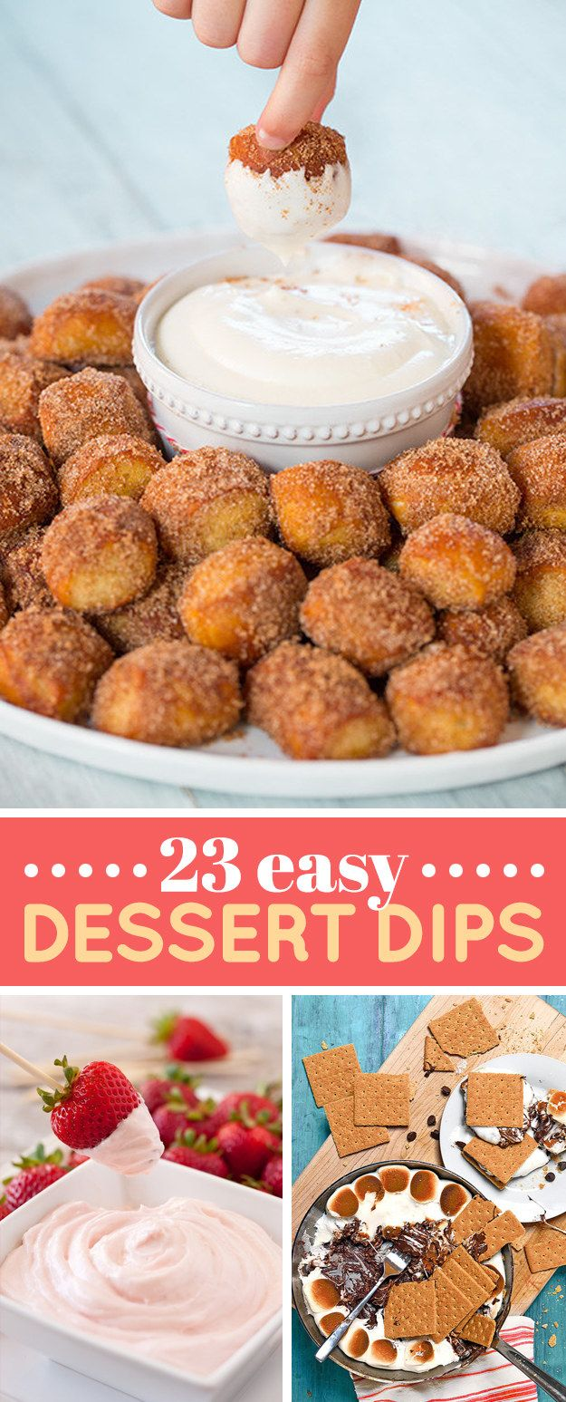 These simple dessert recipes require five ingredients (or fewer!) to make. When your pantry is running low, turn to this list of quick, easy desserts. Skip links.