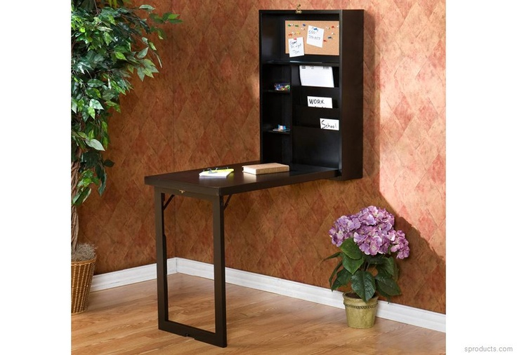 Sproducts — Wall-Mounted Fold-Down Desk