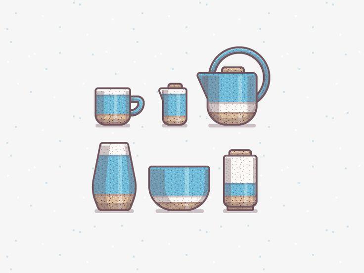 Ceramics Icons by Ryan Putnam