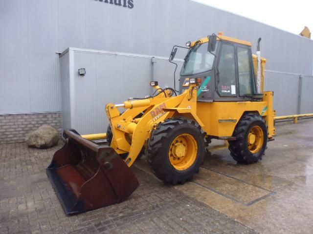 We offer for sale Backhoe Ram 40.13 clx Second Hand. Manufacture year: 2007. Working hours: 1164.  Weight: 9800 kg. Power: 74.9 KW.  Tooth Cup: 67x50x45 cm.  Tires:  - Front: 400/80-24 Michelin XL 95% power.  - Rear: 14.9-24 Stomil 90%. Excellent running condition. Ask us for price. Reference Number: AC0031 Baurent Romania.