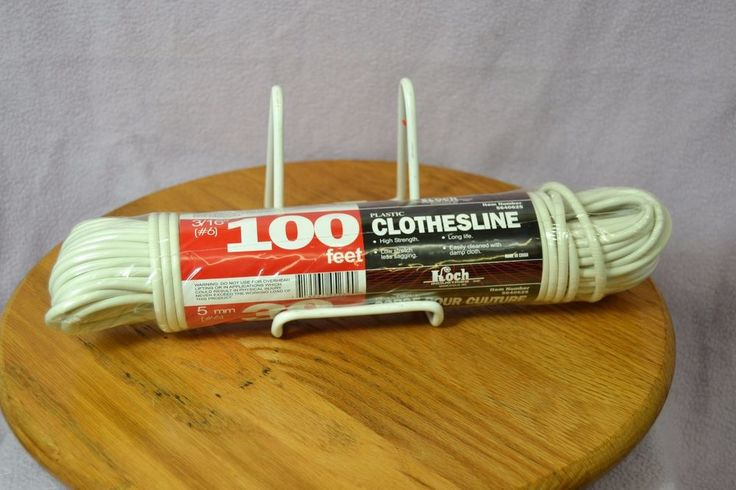 The Koch Industries Plastic Clothesline 100' #5640625 High Strength Low Stretch #KochIndustries