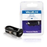 Valueline USB-autolader USB A female - 12V-autoaansluiting zwart (VLMB11950B)  Deze USB-lader is geschikt voor het laden van verschillende typen mobiele apparaten in een auto. Houdt u er rekening mee dat er een USB-apparaatkabel nodig is.  EUR 18.15  Meer informatie