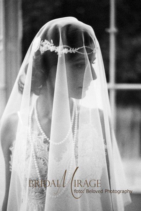 Bridal veil - bohemian Bridal Mirage  #wedding #esküvő #menyasszony #bridal