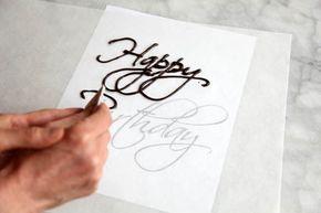 Polymer Clay Tutorial Cake Write Happy