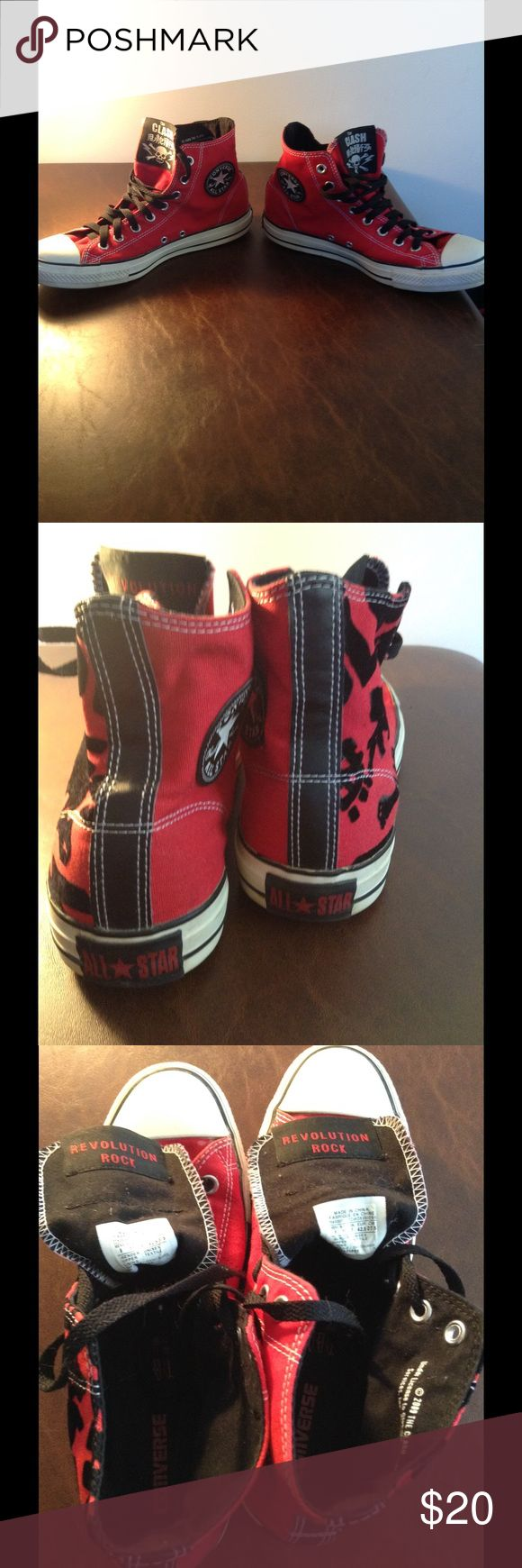 Men's converse Men's converse size 9 in men size 11 in women used in good condition 7.5/10 Converse Shoes