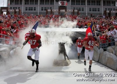 Team entrance - NC State