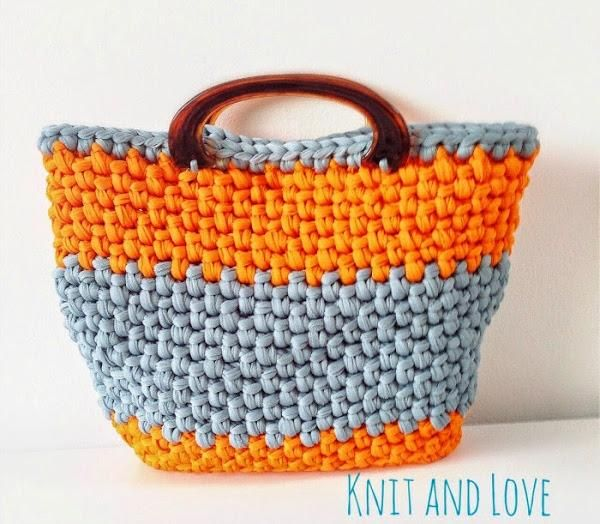 Cesta playera a crochet | Aprender manualidades es facilisimo.com