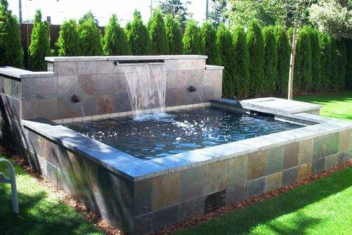 Outdoor Fish Pond I Think Its Cool Pinterest