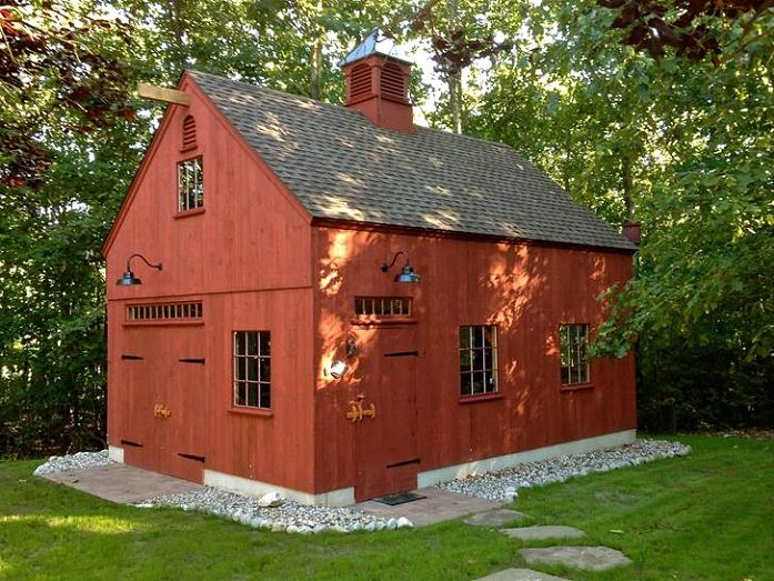 Tiny Home Designs: 25 Best Images About Smaller 1-1/2 Story Barns On