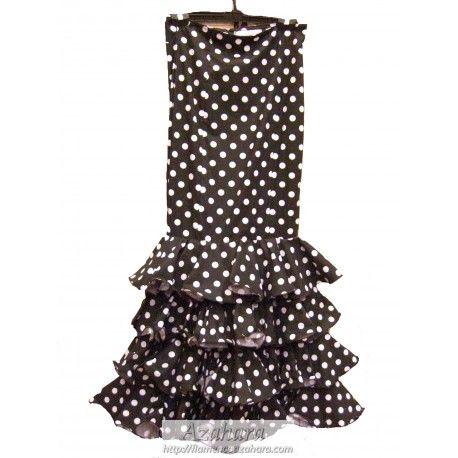 #falda #flamenca entallada para combinar con camisa. #moda #flamenca #Fuengirola