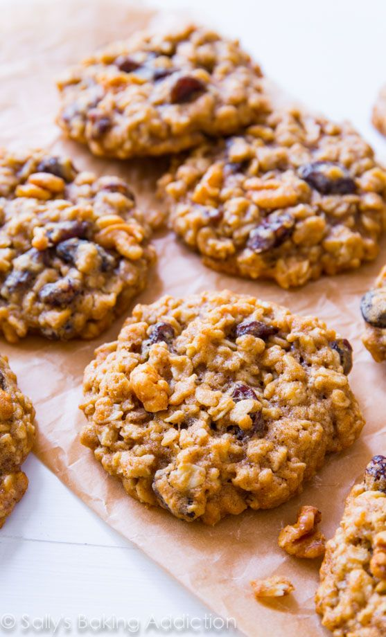 Sallys Baking Addiction Soft & Chewy Oatmeal Raisin Cookies. » Sallys Baking Addiction
