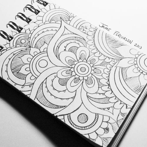 Art blog, Doodles and Doodle ideas on Pinterest