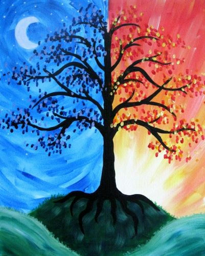 Broadneck Grill And Cantina Night And Day Paint Nite In