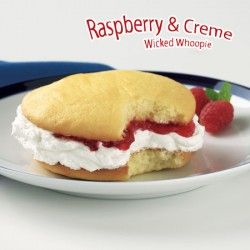 Raspberry & Cream Wicked Whoopie